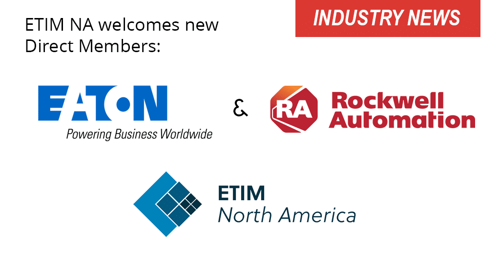 Eaton, Rockwell Automation Join ETIM NA